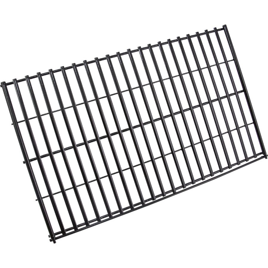 Char-Broil Adjustable Length Rectangle Porcelain-Coated Steel Cooking Grate
