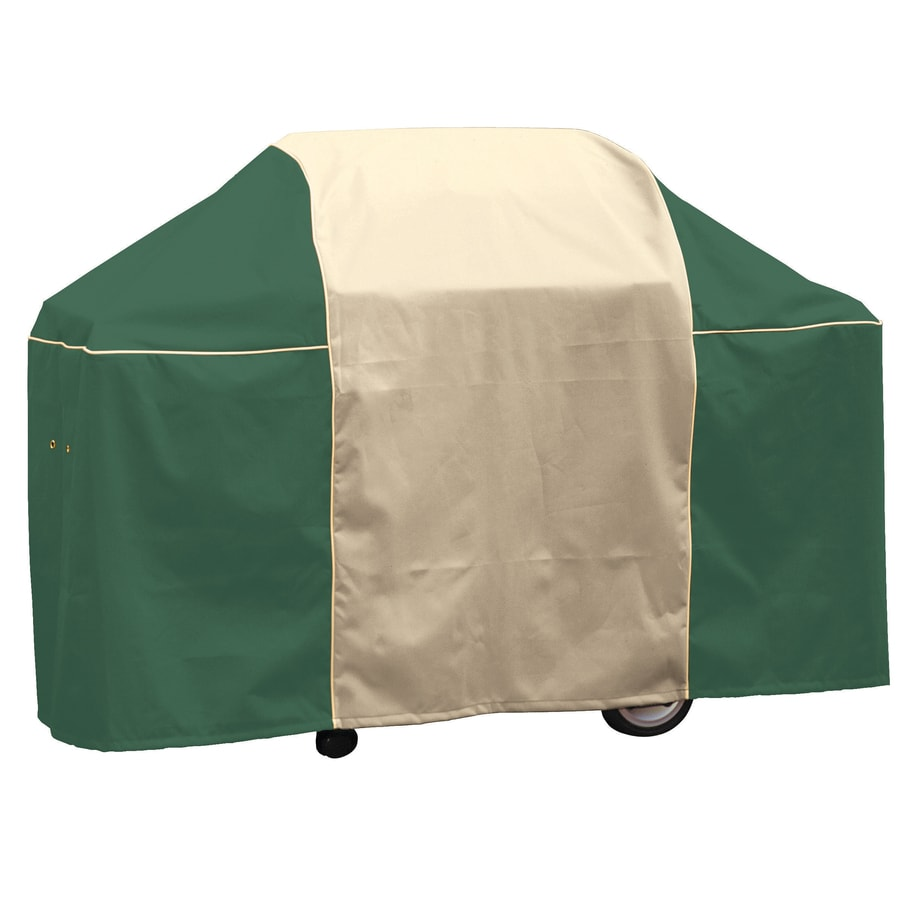 Char-Broil Mountain Green Polyester 65-in Cover