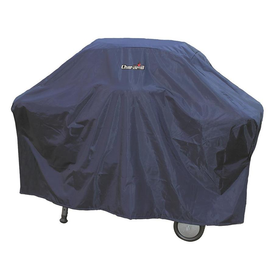 Char-Broil 68-in x 41-in Twilight Blue Polyester Gas Grill Cover