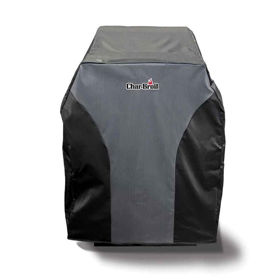 Char-Broil Black- Gray Polyester 27-in Cover
