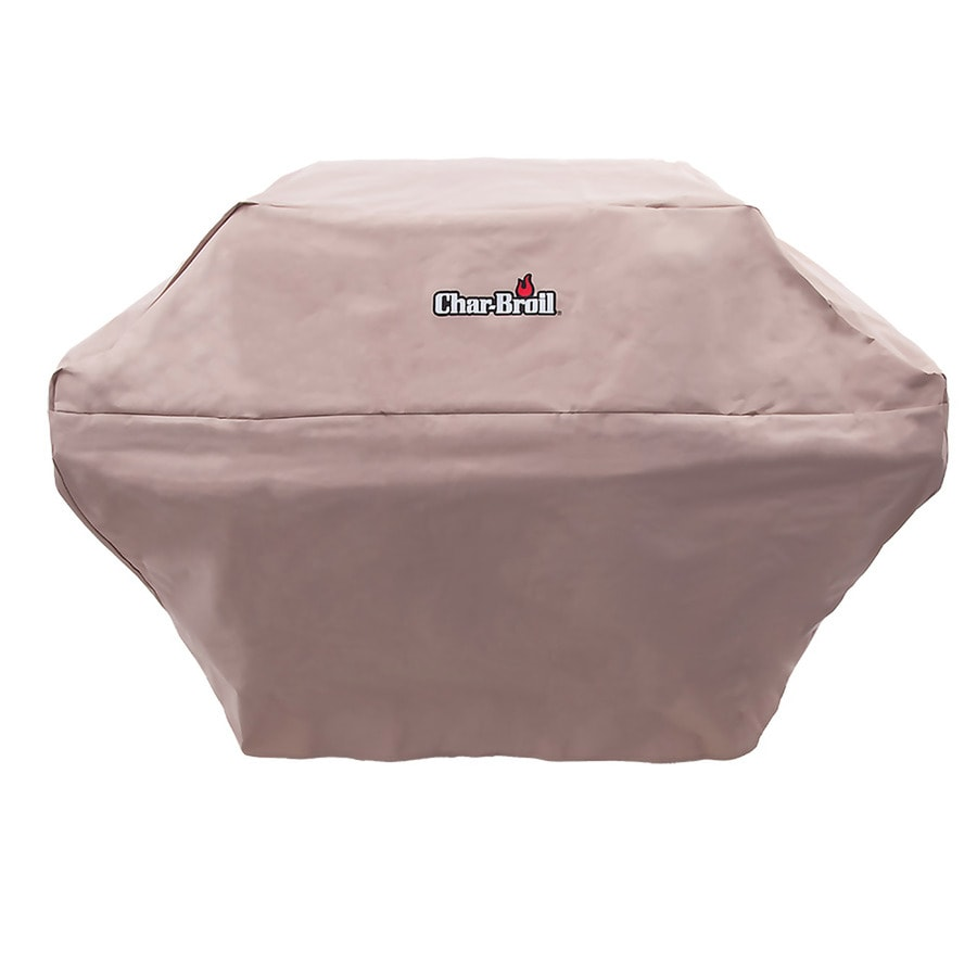 Char-Broil 58-in x 41.5-in Taupe Polyester Gas Grill Cover