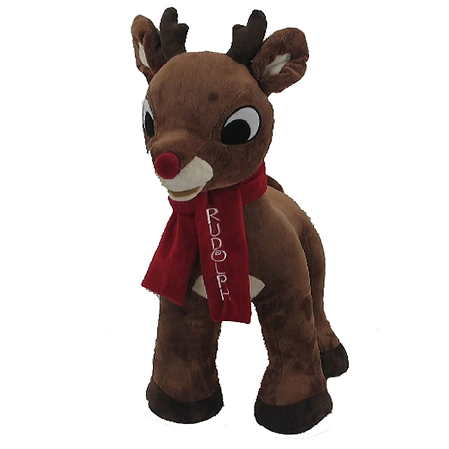 Rudolph the Red-Nosed Reindeer Christmas Polyester Rudolph