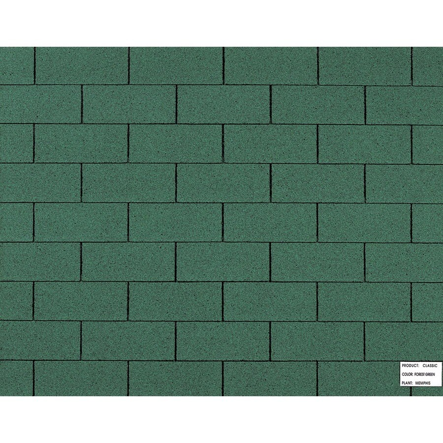 Shop Owens Corning Classic Ft Forest Green