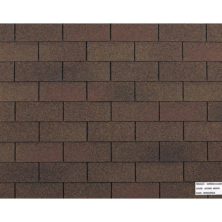 Shop Owens Corning Classic Ft Autumn Brown