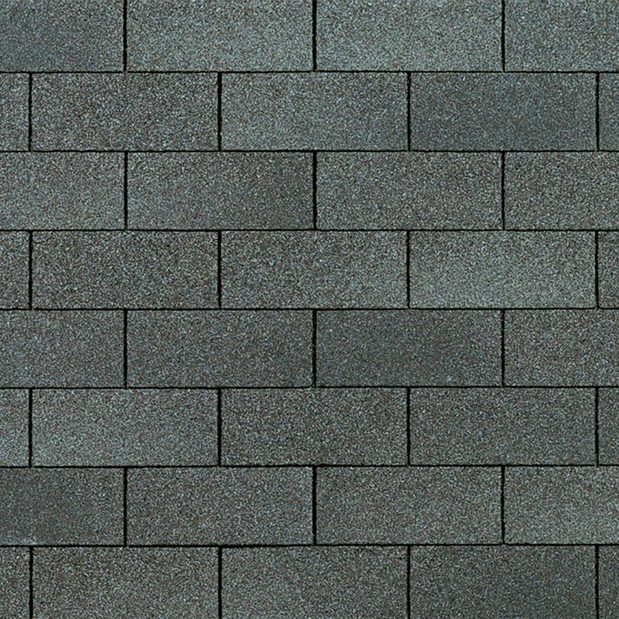 Owens Corning Supreme 33.3-sq ft Estate Gray Traditional 3-Tab Roof Shingles