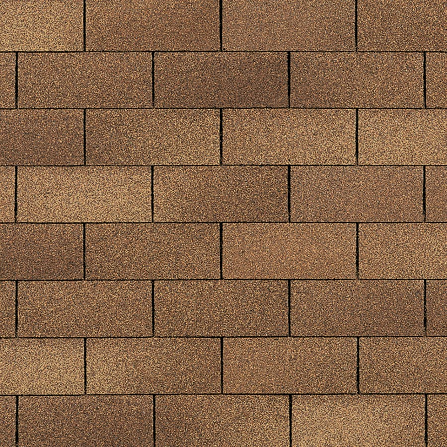 Owens Corning Supreme 33.33 Sq Ft Desert Tan 3 Tab Roof Shingles