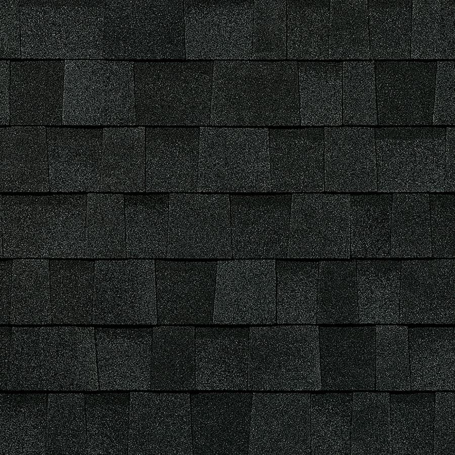 Owens Corning Oakridge 32.8-sq ft Onyx Black Laminated Architectural Roof Shingles