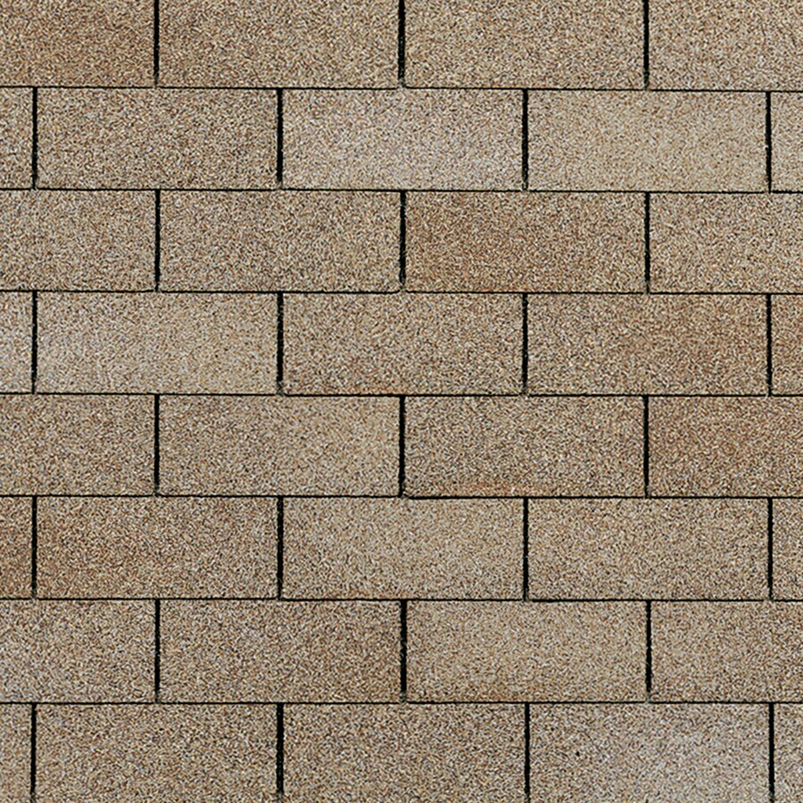 Owens Corning Supreme 33 Sq Ft Amber Traditional 3 Tab Roof Shingles