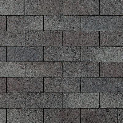 Supreme 33 Sq Ft Weathered Wood Algae Resistant 3 Tab Roof Shingles