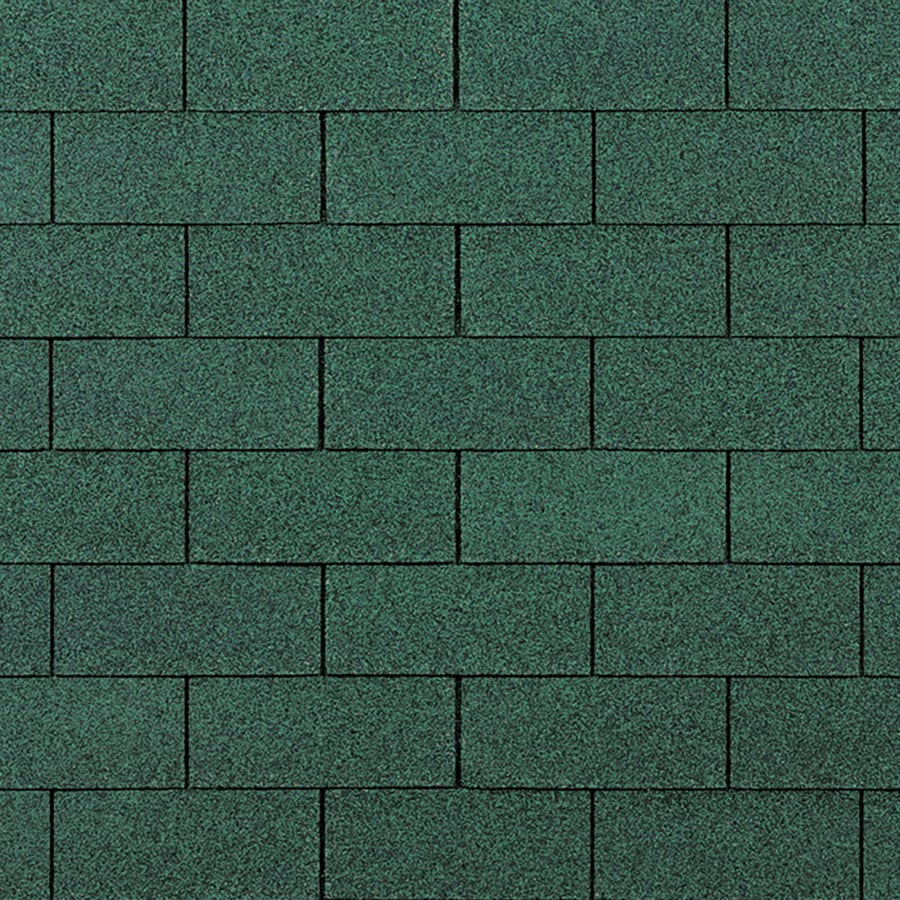 Owens Corning Supreme 33.3-sq ft Chateau Green Traditional 3-Tab Roof Shingles
