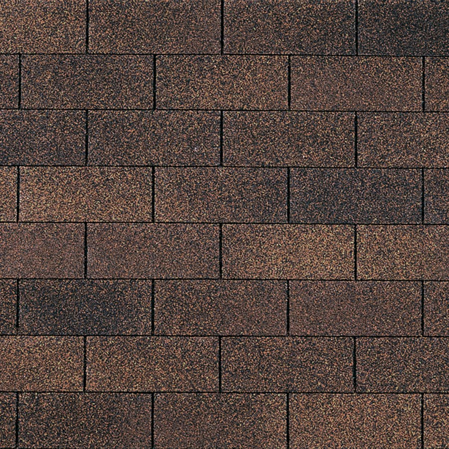 Owens Corning Supreme 33.3-sq ft Brownwood Traditional 3-Tab Roof Shingles