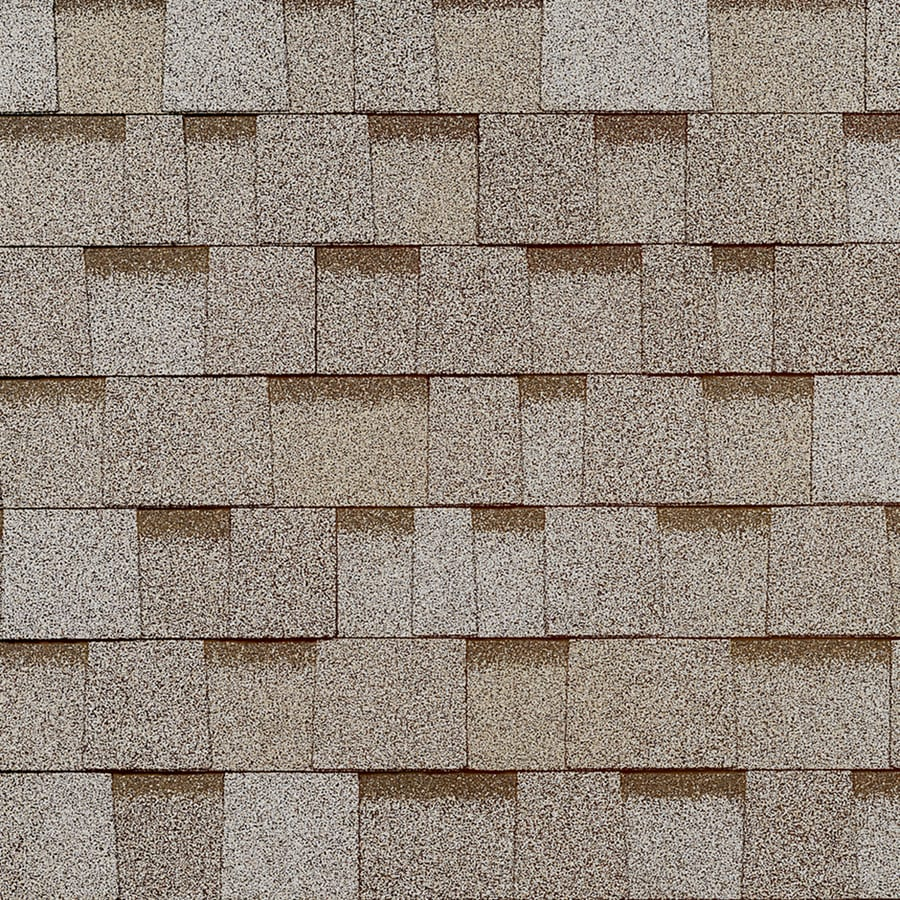 Shop Owens Corning Oakridge 328 Sq Ft Beachwood Sand Laminated