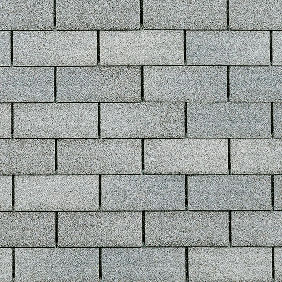 Owens Corning Supreme 33.33-sq ft Antique Silver Traditional 3-Tab Roof Shingles