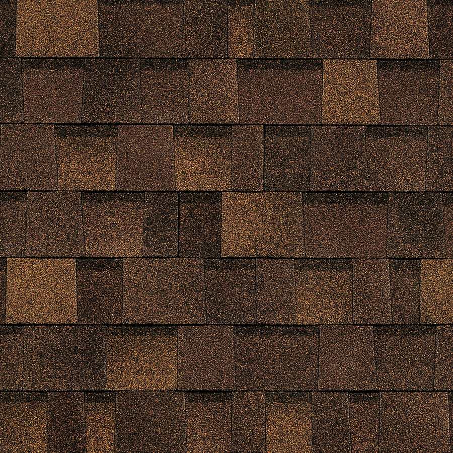 Owens Corning Oakridge 32.8 Sq Ft Brownwood Laminated Architectural Roof Shingles