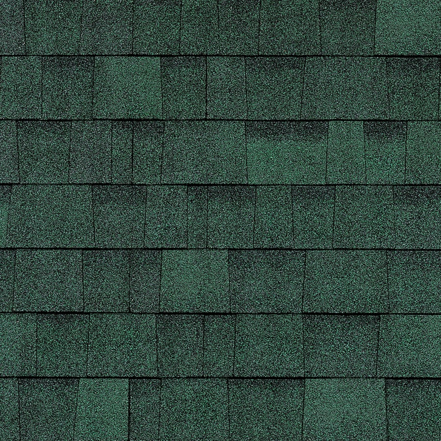 Shop owens corning oakridge 32 8 sq ft chateau green for Sustainable roofing materials