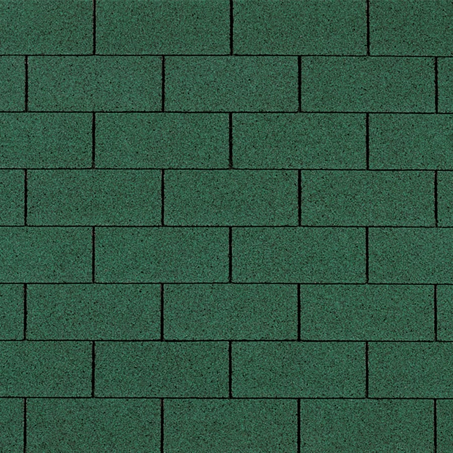 Owens Corning Supreme 33.33-sq ft Forest Green Traditional 3-Tab Roof Shingles
