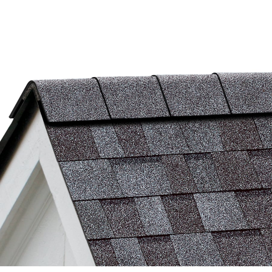 Owens Corning Perforated 33.75-lin ft Quarry Gray Hip and Ridge Roof Shingles