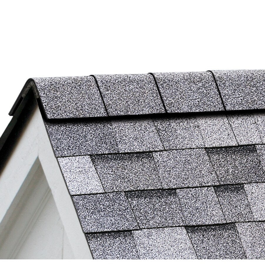 Owens Corning Perforated 33.75-lin ft Sierra Gray Hip and Ridge Roof Shingles
