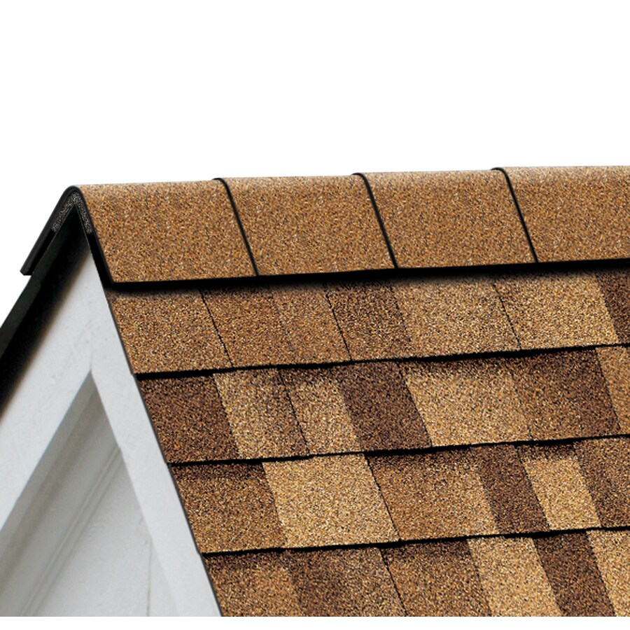 Owens Corning Perforated 33.75-lin ft Desert Tan Hip and Ridge Roof Shingles