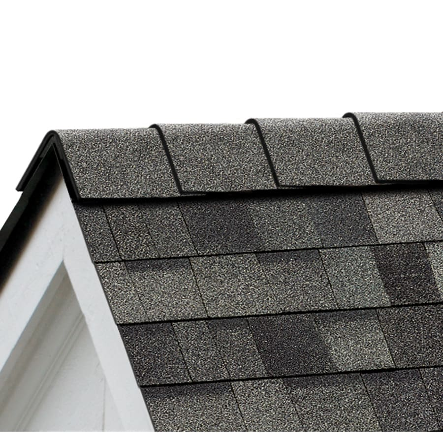 Owens Corning High Ridge 21.3-lin ft Estate Gray Hip and Ridge Roof Shingles