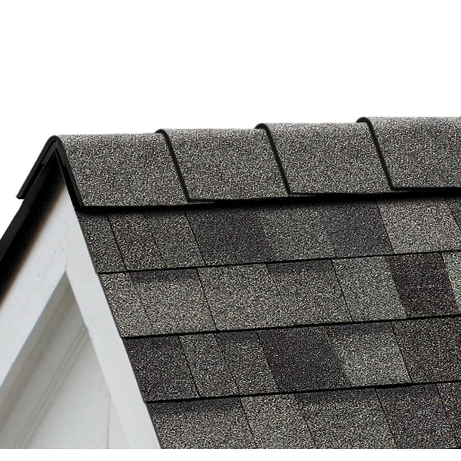 Owens Corning High Ridge 21.3-lin ft Estate Gray Hip and Ridge Roof Shingles
