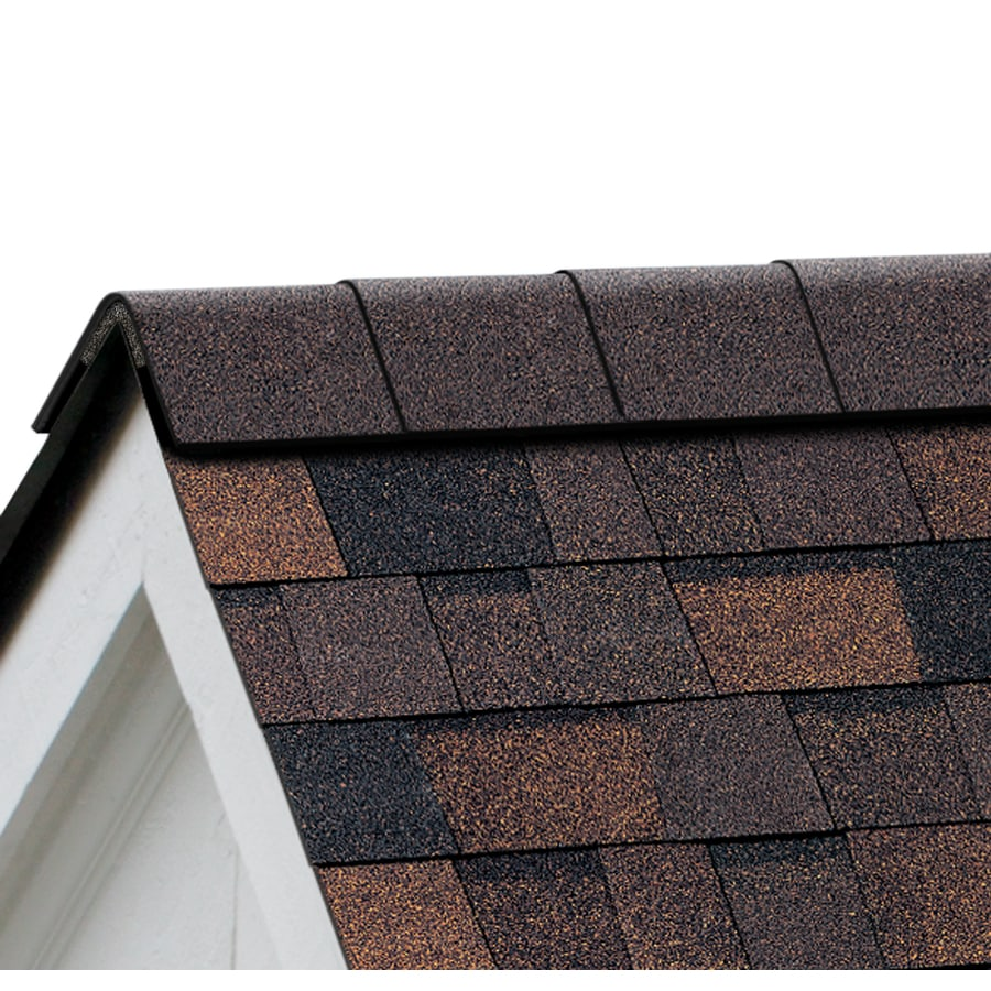 Owens Corning WeatherGuard HP 32.5-lin ft Brownwood Hip and Ridge Roof Shingles