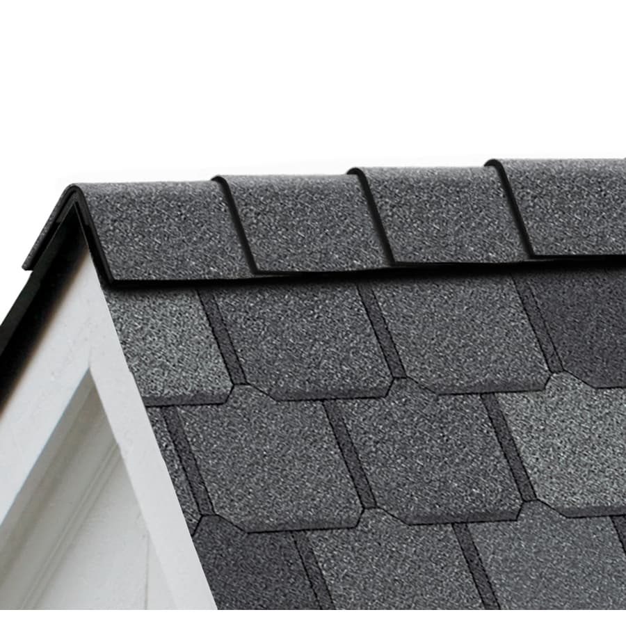 Owens Corning Berkshire 21.3-lin ft Manchester Gray Hip and Ridge Roof Shingles