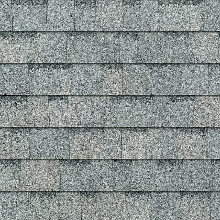 Owens Corning 24.6-sq ft Antique Silver Laminated Architectural Roof Shingles