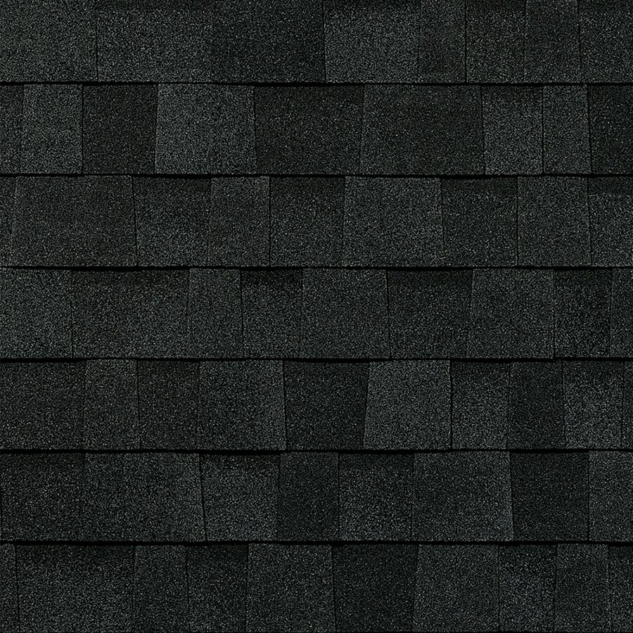 Owens Corning 24.6-sq ft Onyx Black Laminated Architectural Roof Shingles