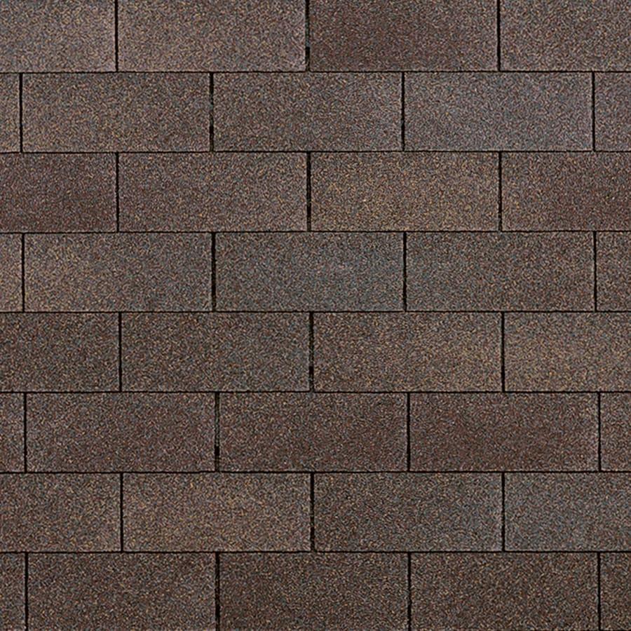 Owens Corning Supreme 33.33-sq ft Teak Traditional 3-Tab Roof Shingles