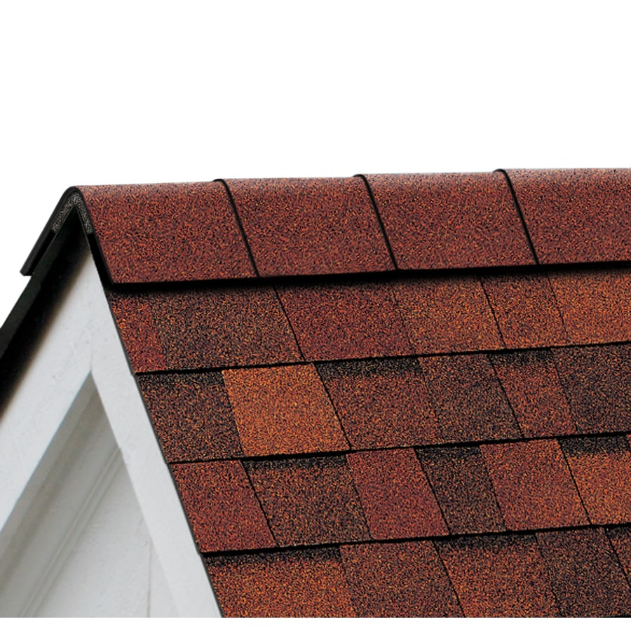 Shop Owens Corning Perforated AR Hip Ridge Terra Cotta Laminate – Laminated Asphalt Roofing Shingles