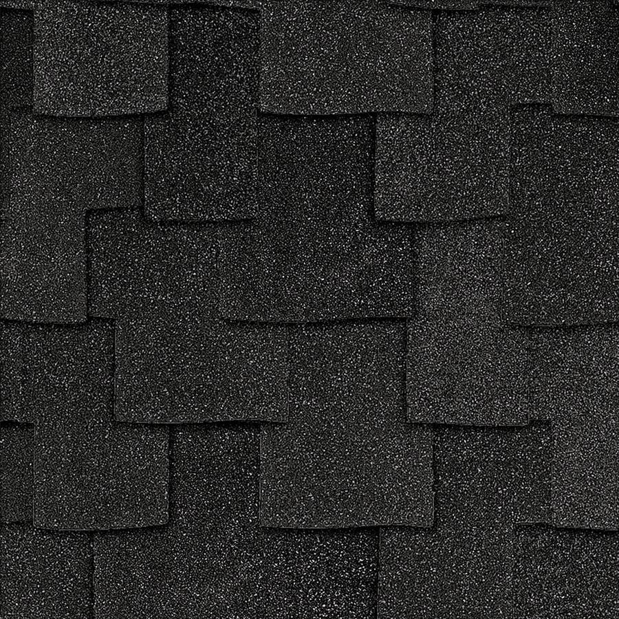 Owens Corning Woodcrest 16.67-sq ft Carbon Laminated Architectural Roof Shingles