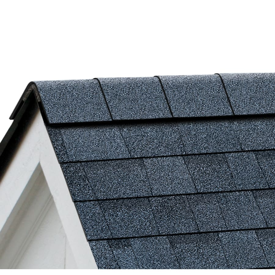 Owens Corning Perforated 33.75-lin ft Harbor Blue Hip and Ridge Roof Shingles