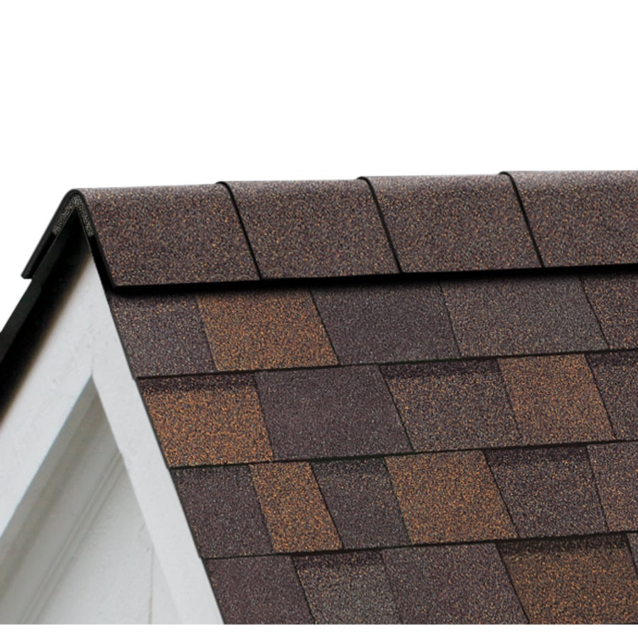 Owens Corning Perforated 33.75-lin ft Teak Hip and Ridge Roof Shingles