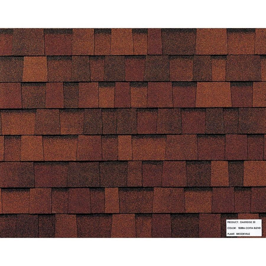 Owens Corning Laminate Terra Cotta Asphalt Roofing Shingle