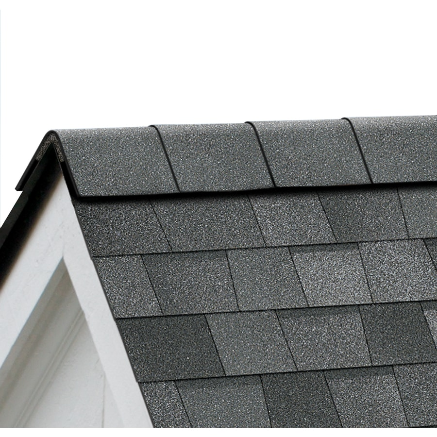 Owens Corning Perforated 33.75-lin ft Slatestone Gray Hip and Ridge Roof Shingles