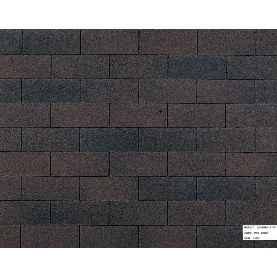 Owens Corning Dark Brown Roof Shingles