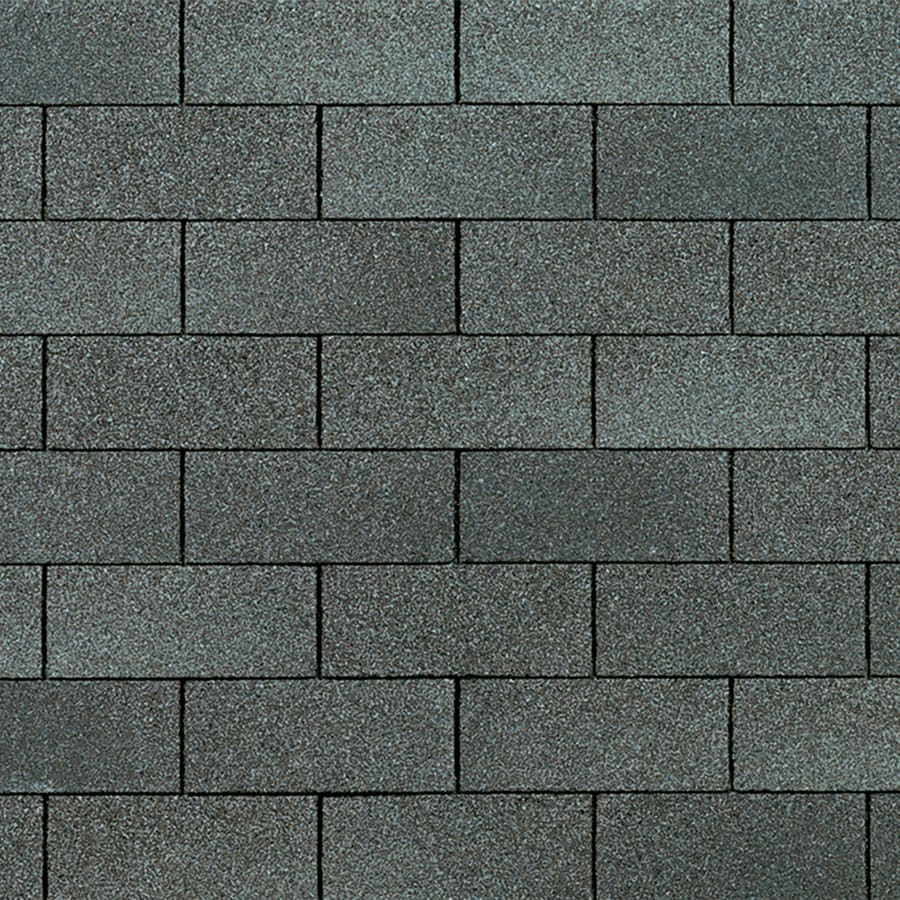 Owens Corning Supreme 33.33-sq ft Estate Gray Traditional 3-Tab Roof Shingles