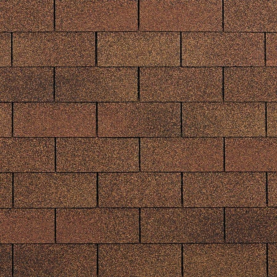 Owens Corning Supreme 33.33-sq ft Autumn Brown Traditional 3-Tab Roof Shingles