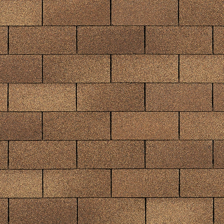 Owens Corning Supreme 33.33-sq ft Desert Tan Traditional 3-Tab Roof Shingles