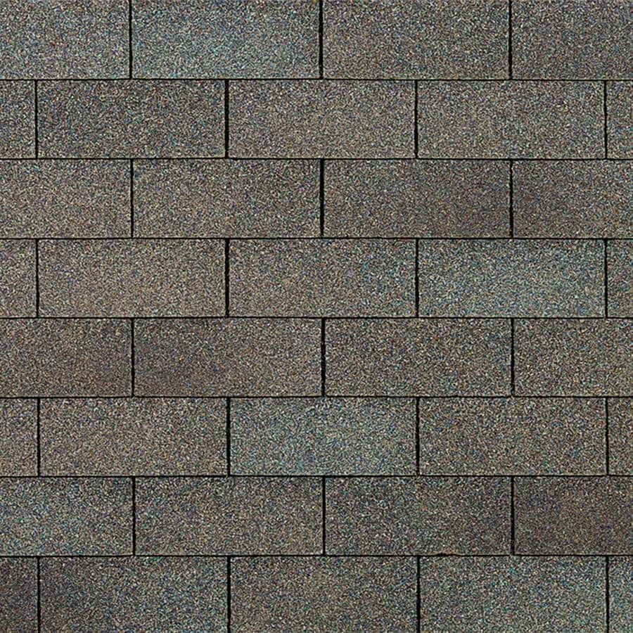 Owens Corning Supreme 33.33-sq ft Driftwood Traditional 3-Tab Roof Shingles