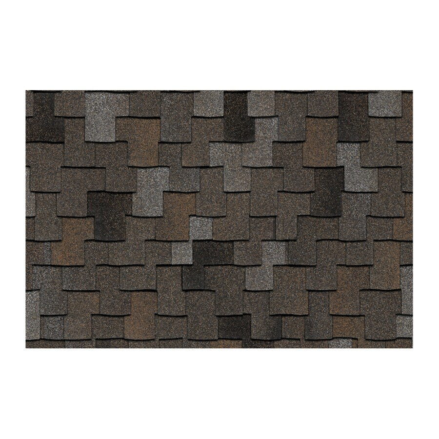 Owens Corning Woodcrest 16.67-sq ft Autumn Maple Laminated Architectural Roof Shingles
