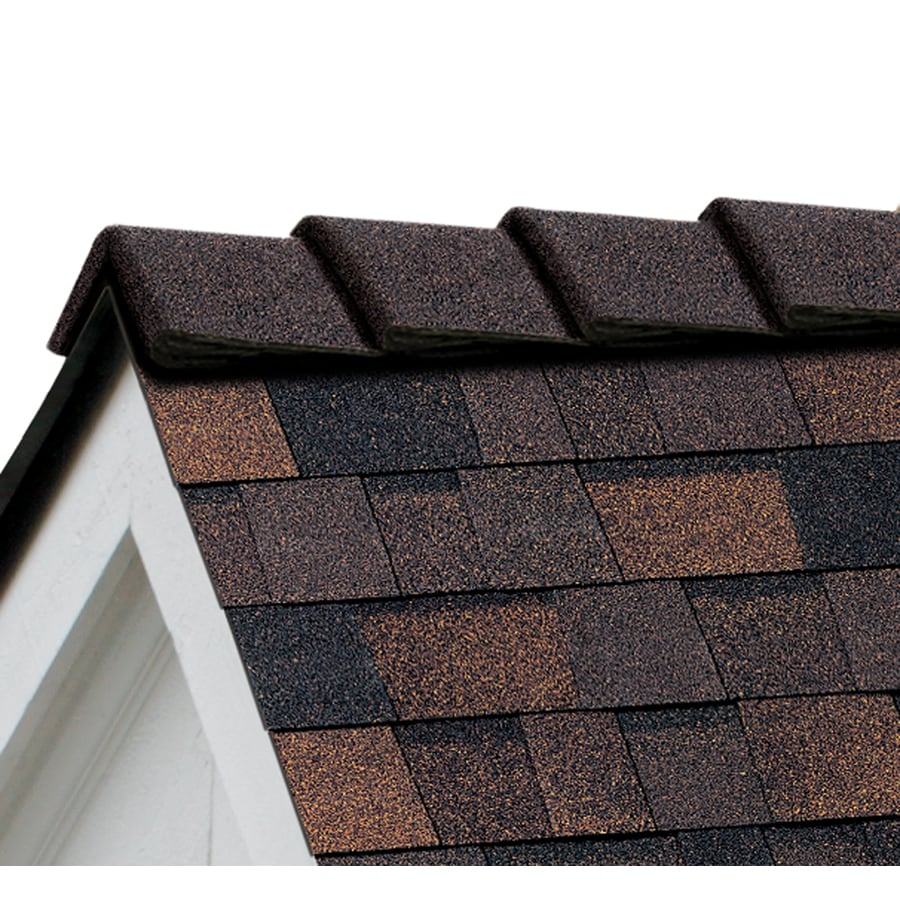 Owens Corning DecoRidge 20-lin ft Brownwood Hip and Ridge Roof Shingles