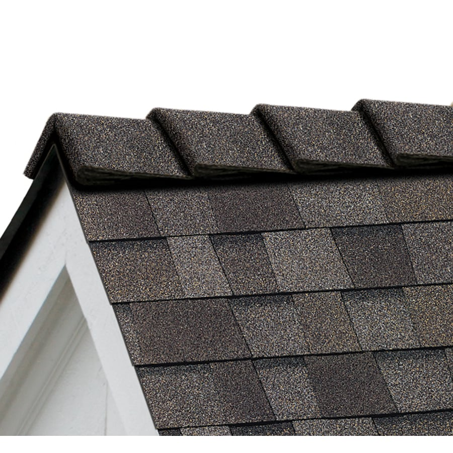 Owens Corning DecoRidge 20-lin ft Driftwood Hip and Ridge Roof Shingles