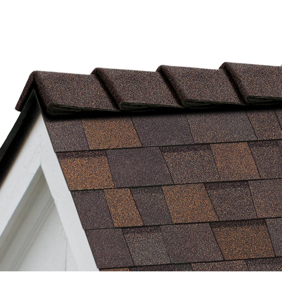 Owens Corning DecoRidge 20-lin ft Teak Hip and Ridge Roof Shingles