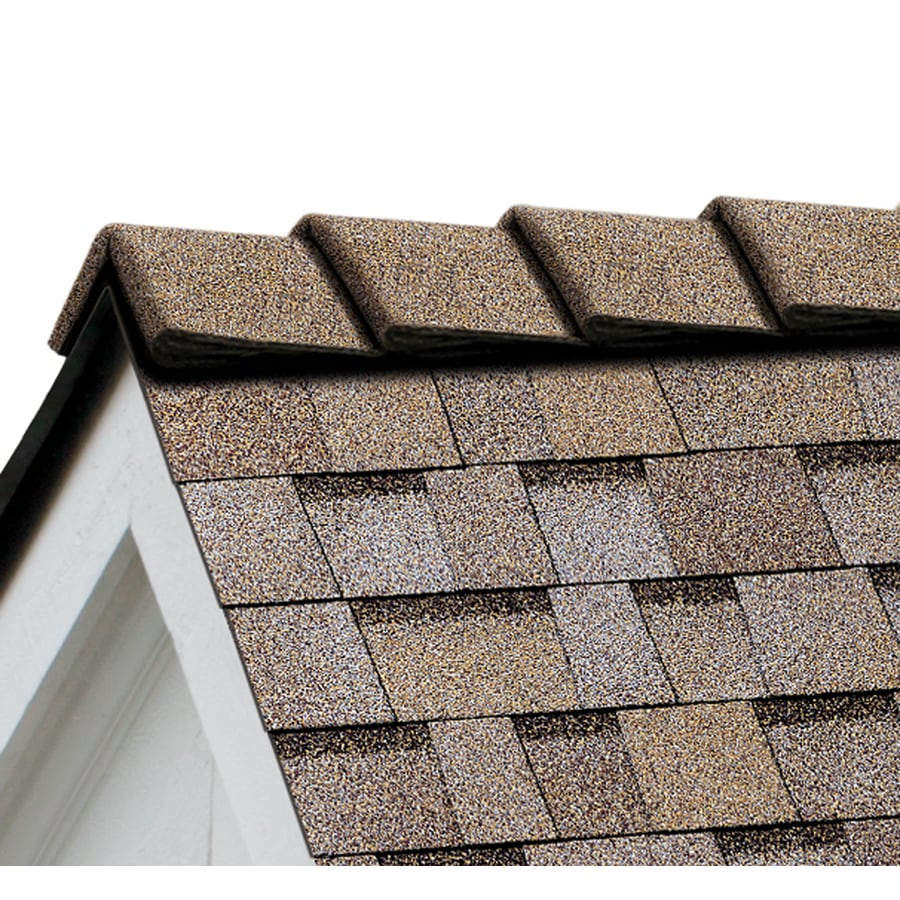 Owens Corning DecoRidge 20-lin ft Amber Hip and Ridge Roof Shingles