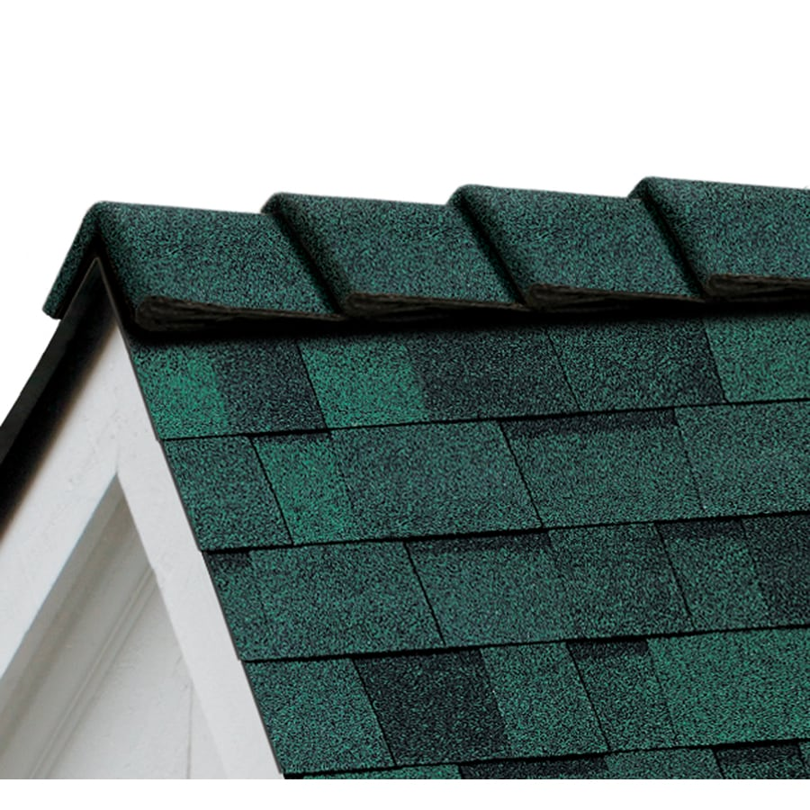 Owens Corning DecoRidge 20-lin ft Chateau Green Hip and Ridge Roof Shingles