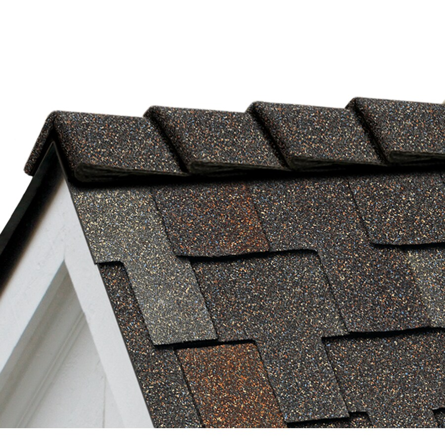 Owens Corning DecoRidge 20-lin ft Juniper Hip and Ridge Roof Shingles