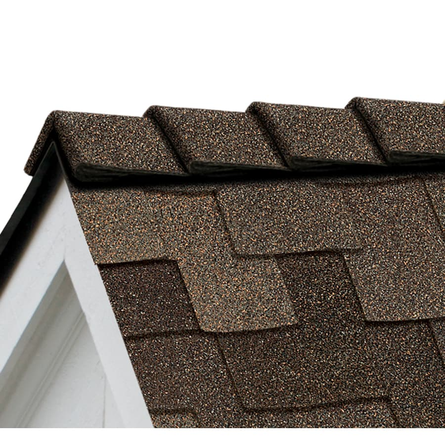 Owens Corning DecoRidge 20-lin ft Chestnut Hip and Ridge Roof Shingles