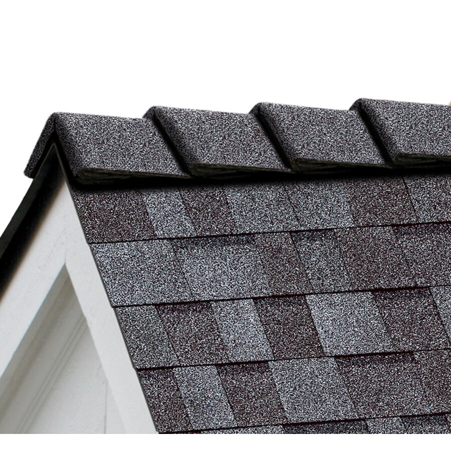 Owens Corning DecoRidge 20-lin ft Quarry Gray Hip and Ridge Roof Shingles